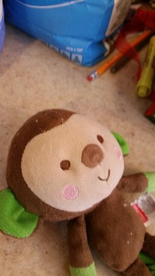 Floury monkey!