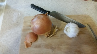 I loved the cute little tail on this onion, haha!