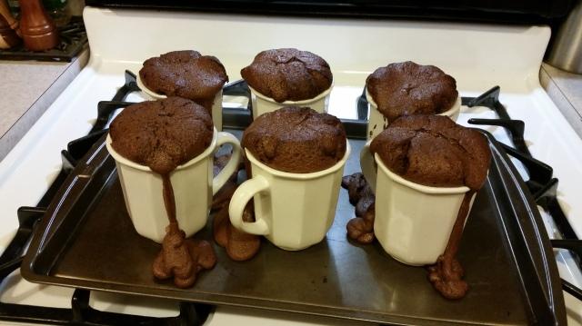 failed lava cakes
